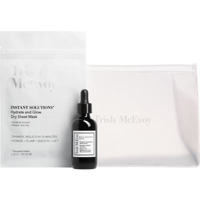 Trish Mcevoy Instant Solutions Dry Sheet Mask & Jumbo Serum Set