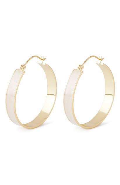Gorjana Accessories JAX HOOP EARRINGS