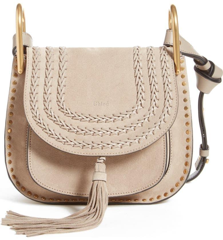 CHLOÉ 'Small Hudson' Shoulder Bag, Main, color, 031