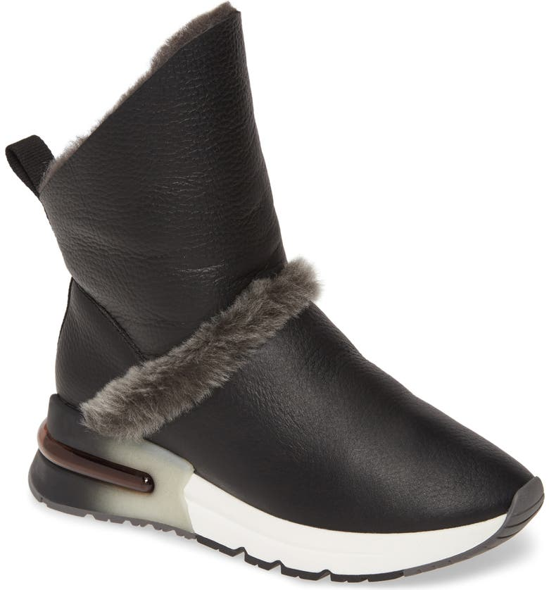 ASH Klima Genuine Shearling Boot, Main, color, 001