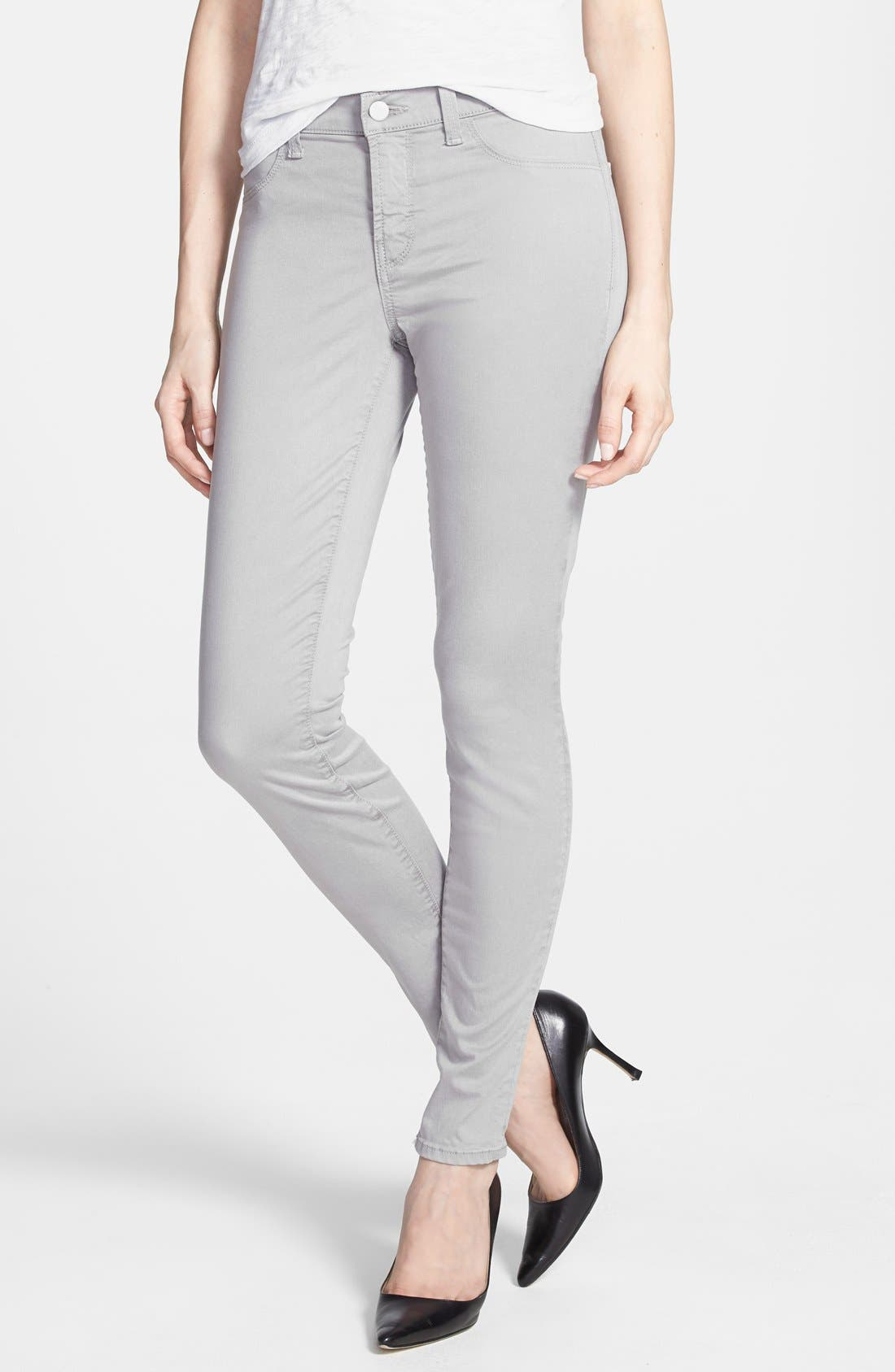 ,                             '485' Mid Rise Super Skinny Jeans,                             Alternate thumbnail 10, color,                             036
