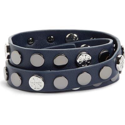 Tory Burch Logo Triple Wrap Bracelet