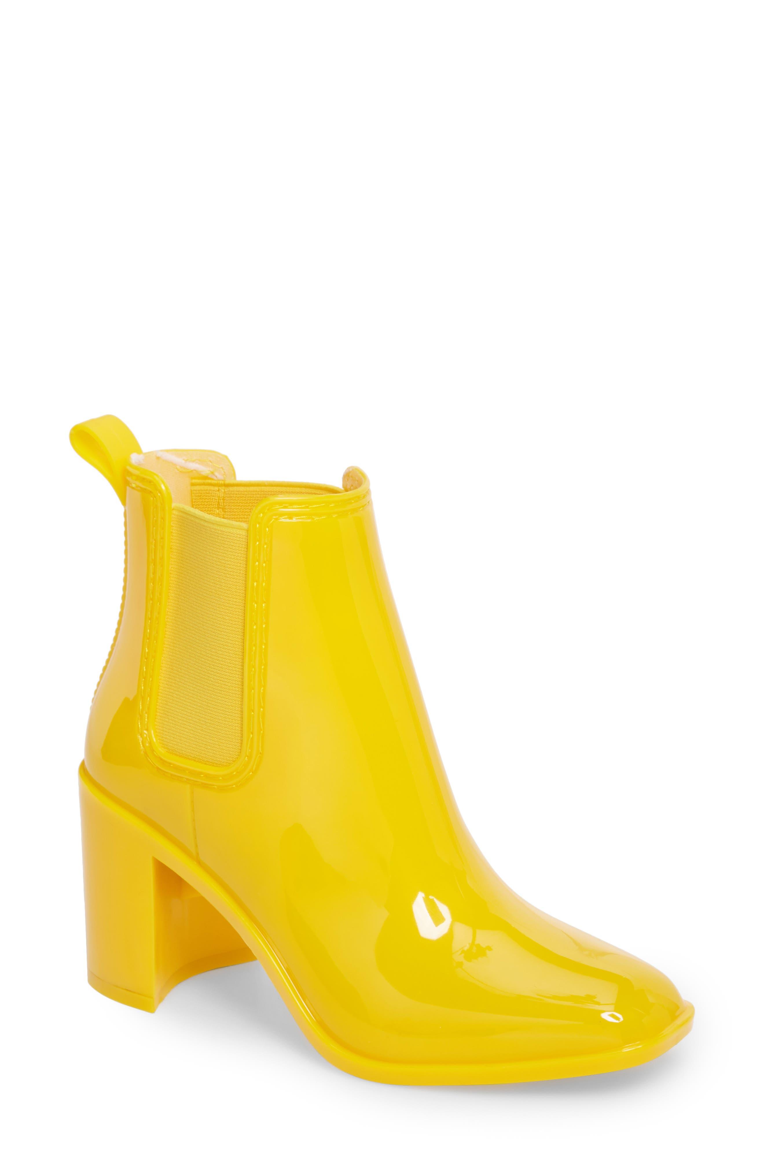 Jeffrey Campbell Hurricane Waterproof Boot, Yellow