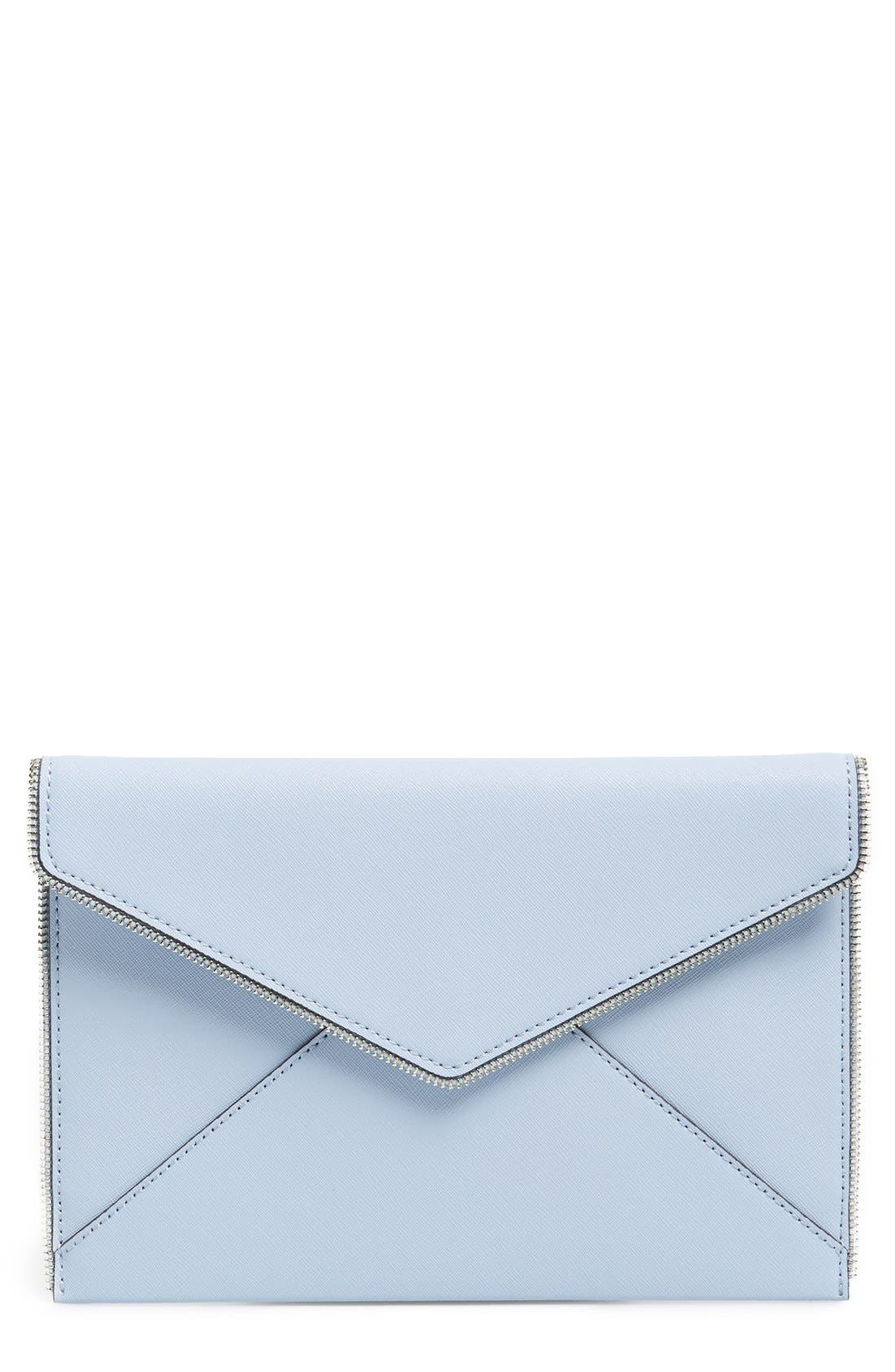 ,                             Leo Envelope Clutch,                             Main thumbnail 167, color,                             400