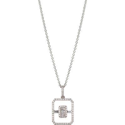 Bony Levy Diamond Open Shape Pendant Necklace (Nordstrom Exclusive)