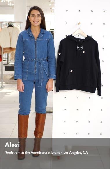 Sportswear Flora Embroidered Fleece Hoodie, sales video thumbnail