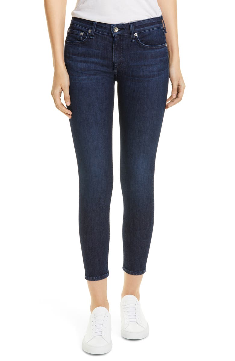 RAG & BONE Cate Ankle Skinny Jeans, Main, color, APRIL
