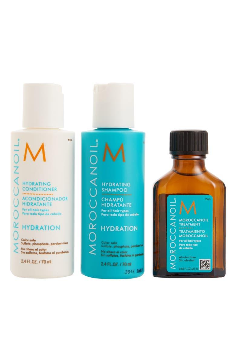 MOROCCANOIL<SUP>®</SUP> Hydrating Trio, Main, color, No Color