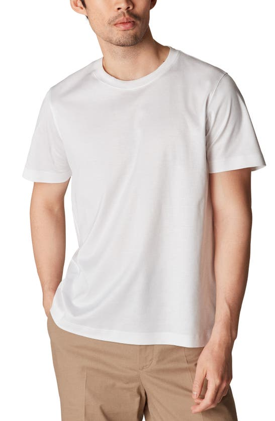 Eton Men's Luxe Jersey T-shirt In White
