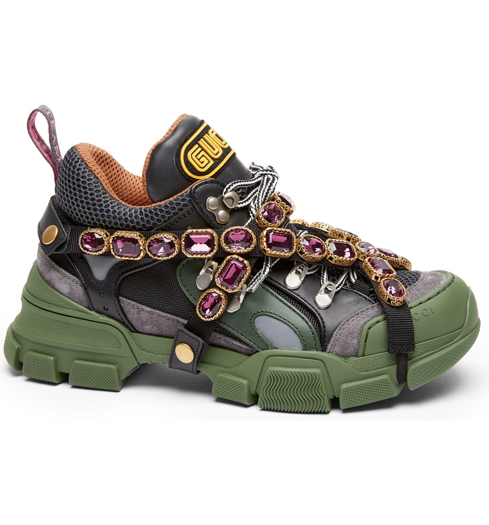 76d8f8c4 Gucci Flashtrek Jewel Sneaker (Women) | Nordstrom