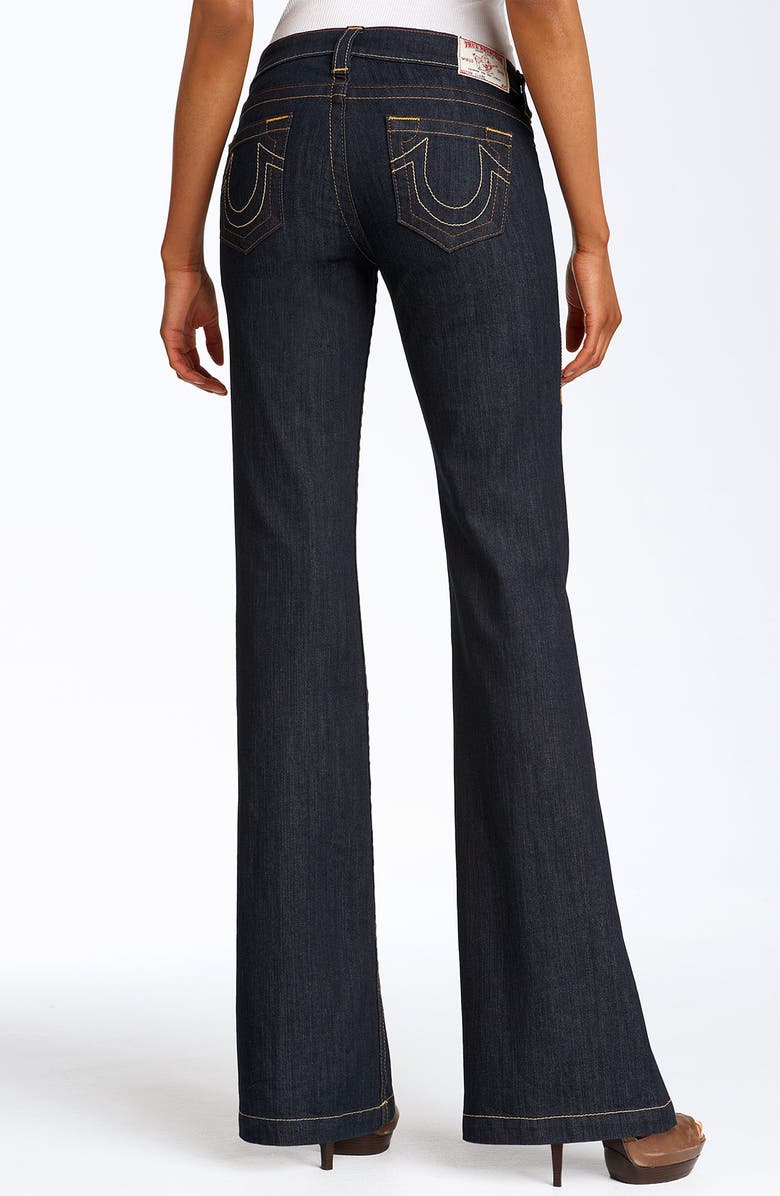 TRUE RELIGION BRAND JEANS 'Claire' Stretch Denim Trousers, Main, color, 400