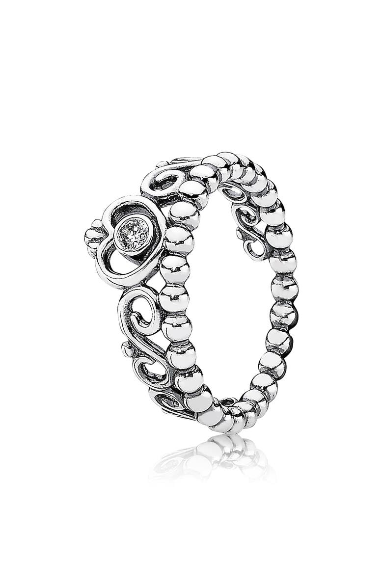 PANDORA My Princess Tiara Ring, Main, color, 040
