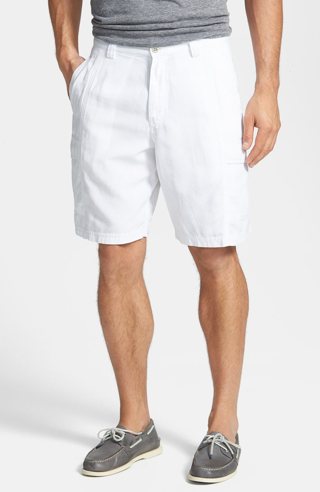 ,                             'Key Grip' Relaxed Fit Cargo Shorts,                             Main thumbnail 7, color,                             100