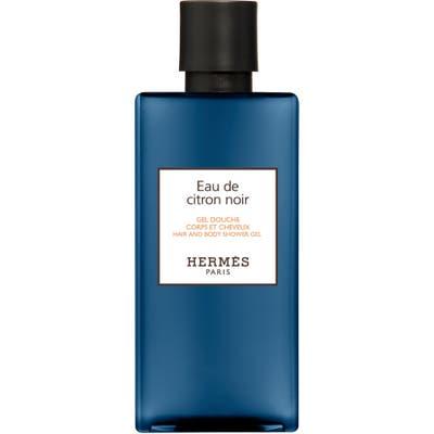 Hermes Eau De Citron Noir Hair And Body Shower Gel, .7 oz