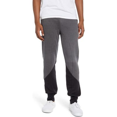 Aviator Nation Glider Colorblock Sweatpants, Black