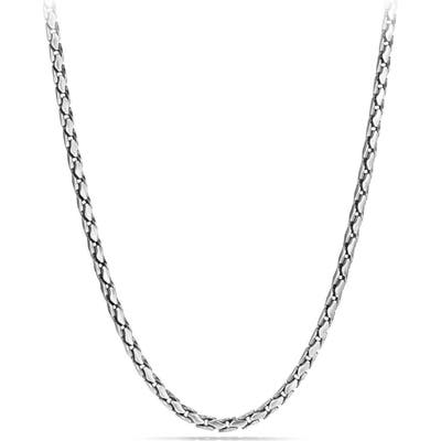 David Yurman Fluted Chain Necklace