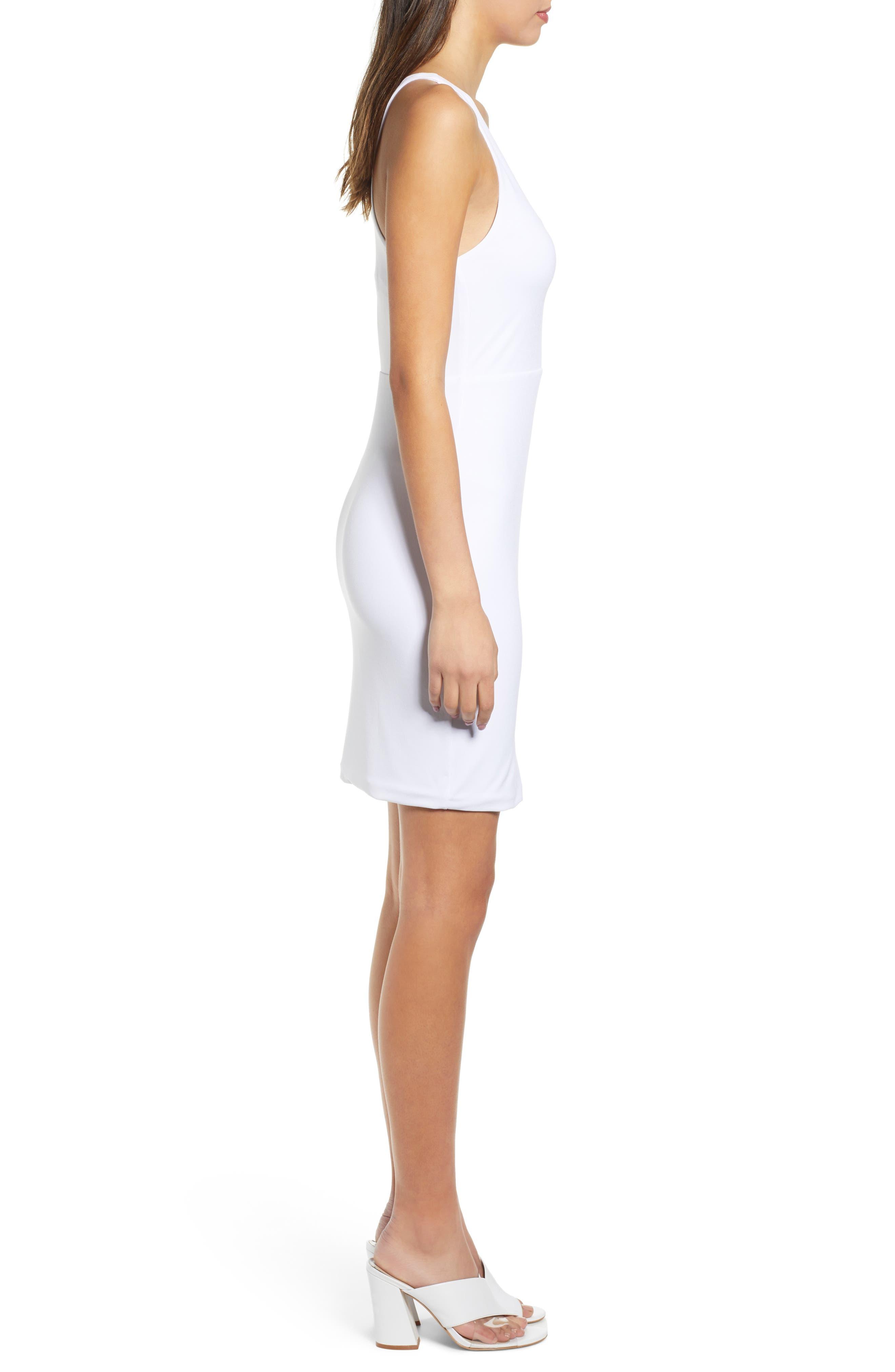 ,                             Racerback Body-Con Dress,                             Alternate thumbnail 16, color,                             100