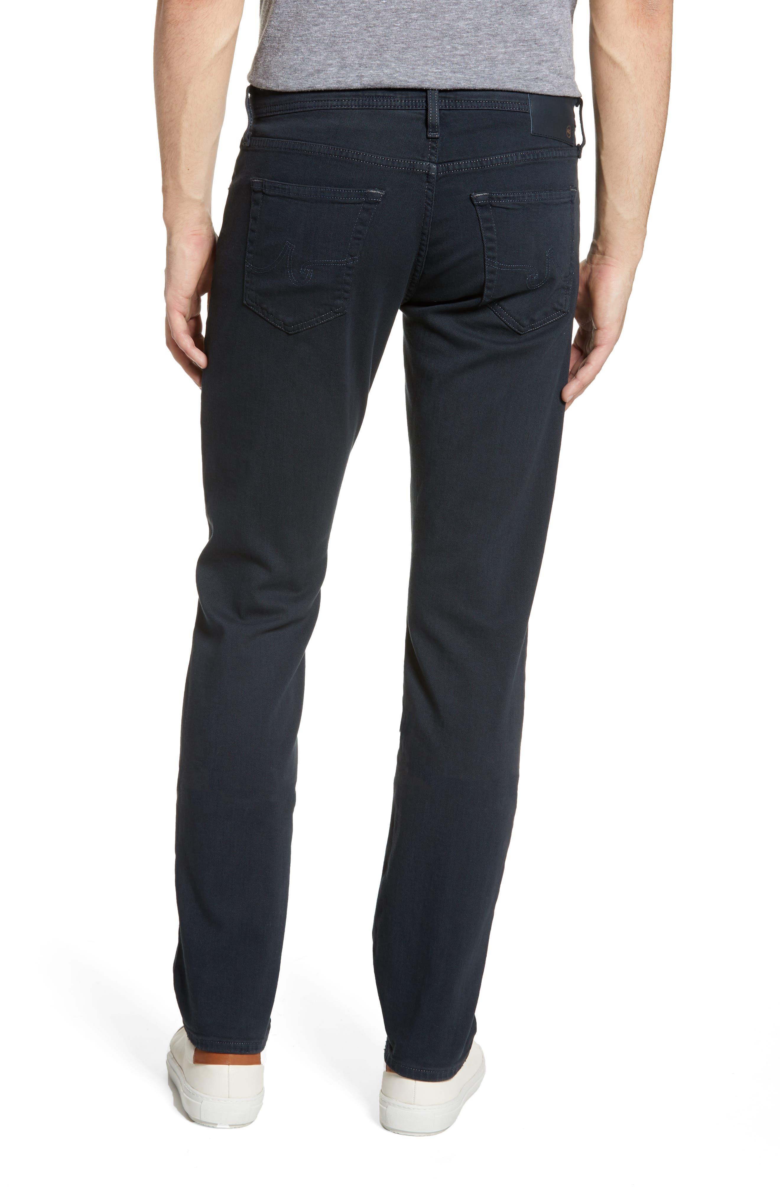 ,                             Graduate Slim Straight Leg Jeans,                             Alternate thumbnail 2, color,                             DARK MOTH