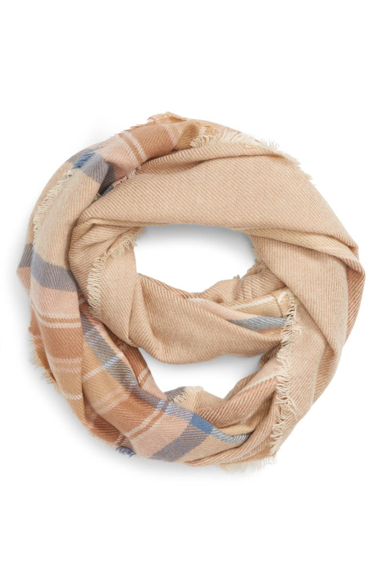BP. 'Heritage' Plaid Scarf, Main, color, 251