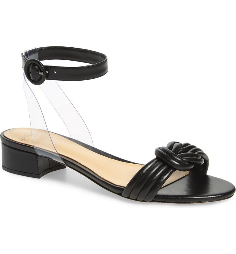 ALEXANDRE BIRMAN Vicky Ankle Strap Sandal, Main, color, BLACK
