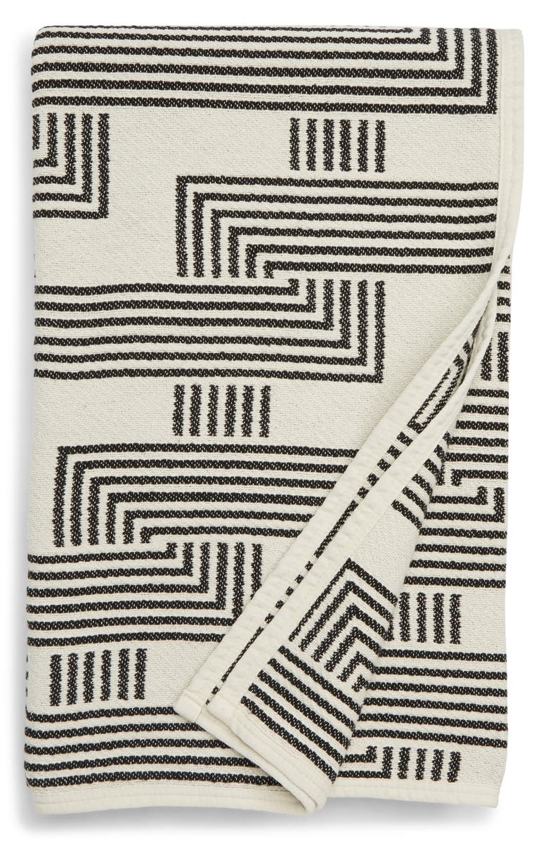 DUSEN DUSEN Clip Throw Blanket, Main, color, 100