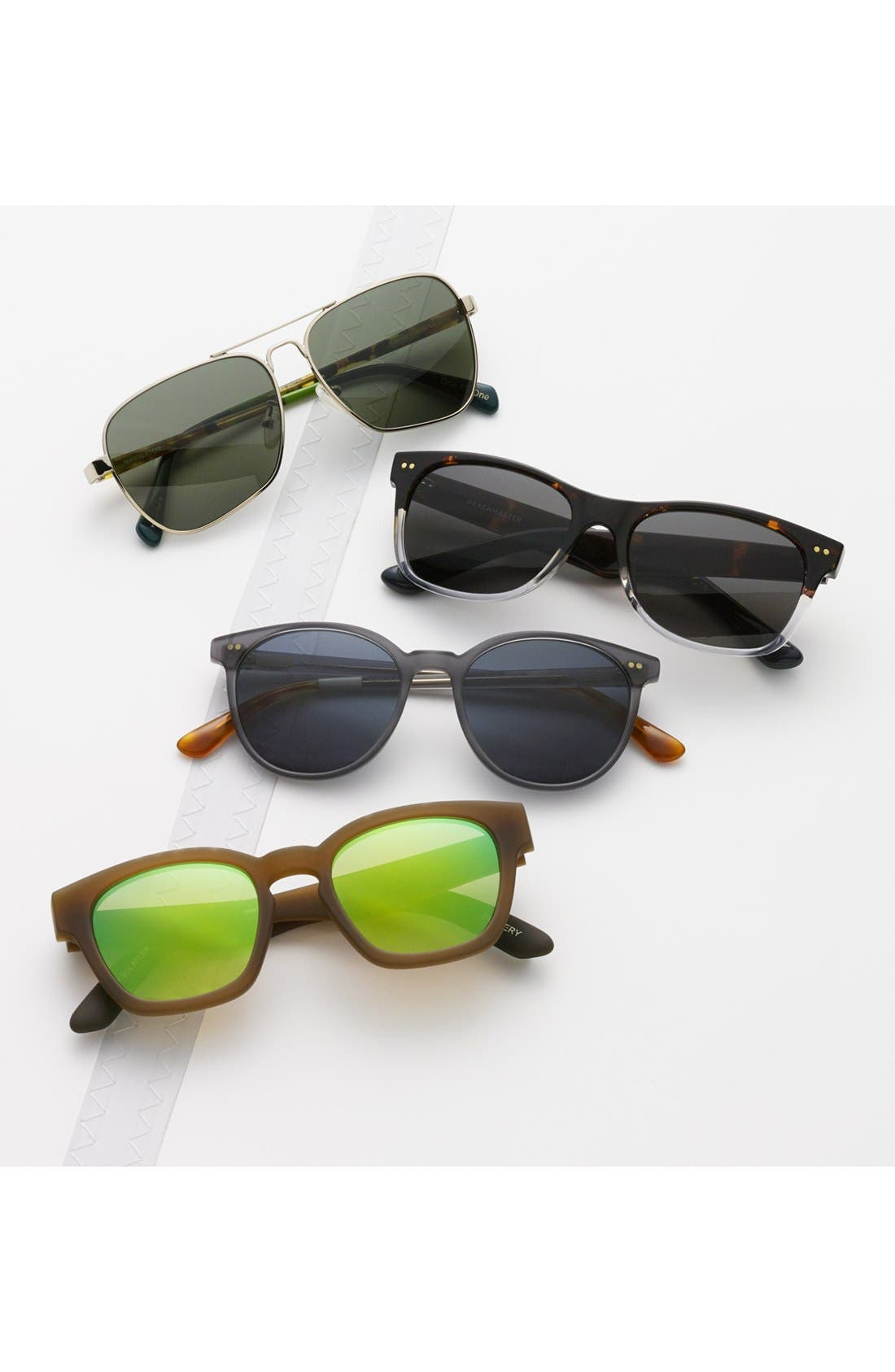 ,                             Bowery 51mm Sunglasses,                             Alternate thumbnail 8, color,                             001