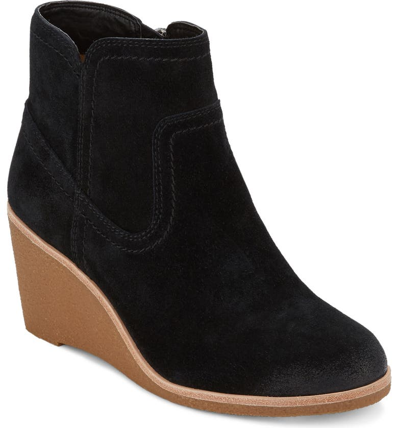 G.H. BASS & CO. Rosanne Wedge Bootie, Main, color, 001
