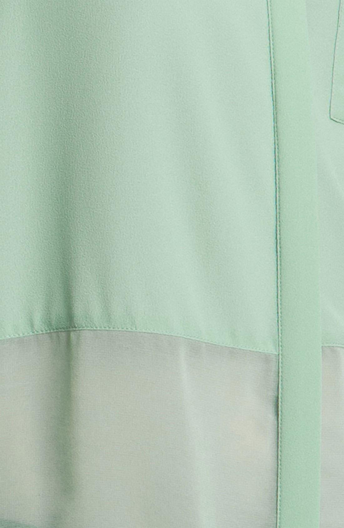 ,                             Lush Sheer Panel High/Low Shirt,                             Alternate thumbnail 10, color,                             445