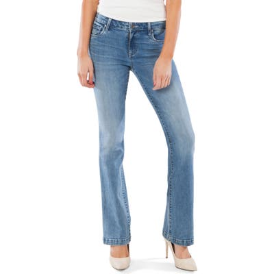 Kut From The Kloth Stella Relaxed Flare Jeans, Blue