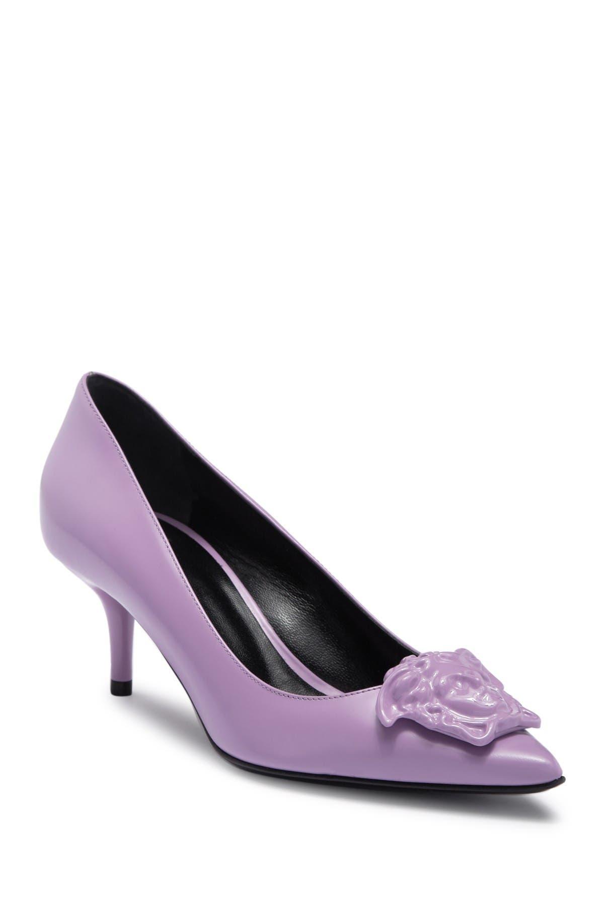 Image of Versace Medusa Kitten Heel