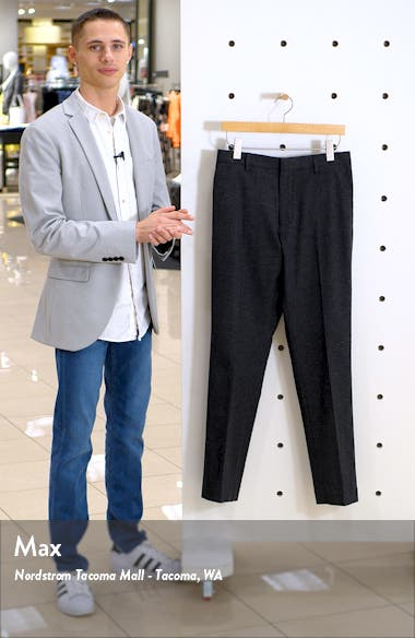 Pebbled Athletic Fit Chino Dress Pants, sales video thumbnail