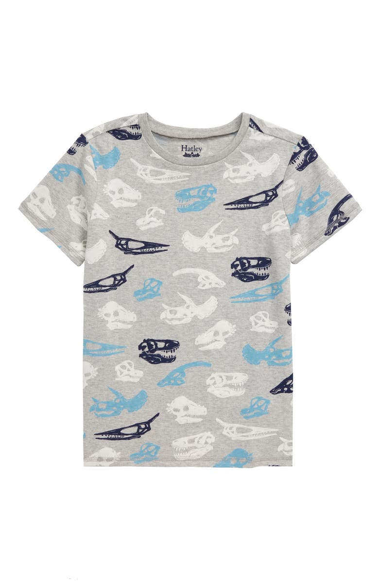 HATLEY Dino Fossils Graphic T-Shirt, Main, color, 020