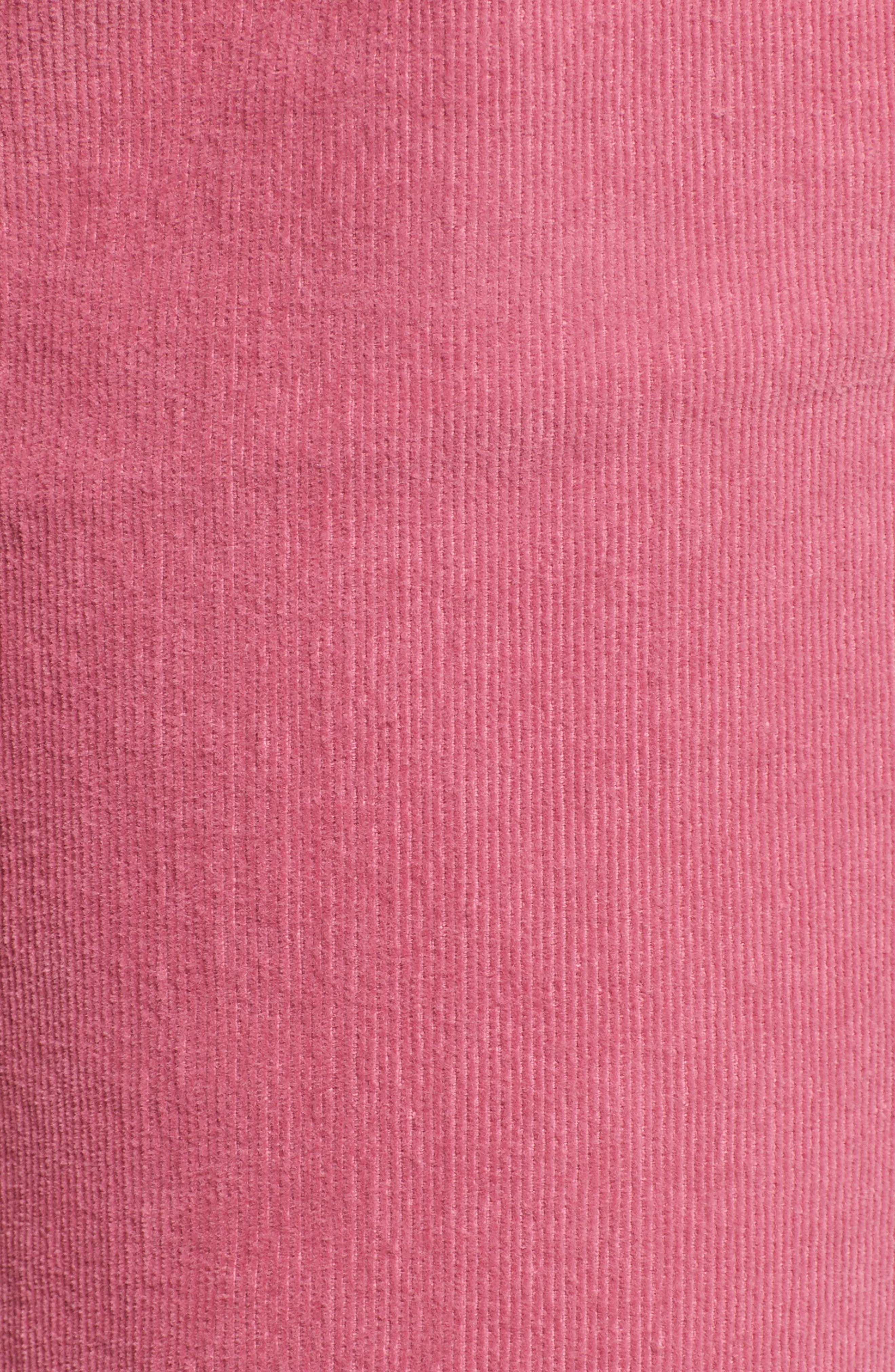,                             Corduroy Slim Crop Flare Pants,                             Alternate thumbnail 12, color,                             659