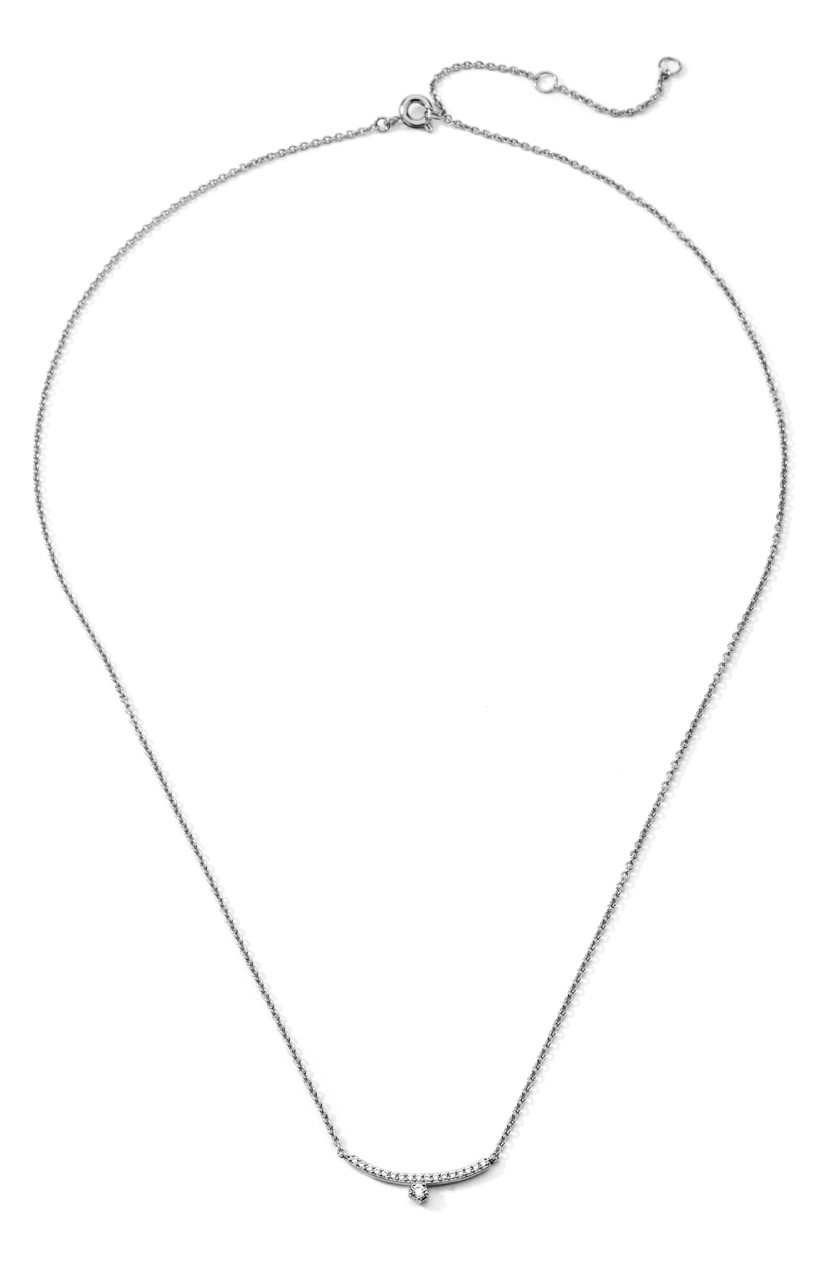 Bar Frontal Necklace