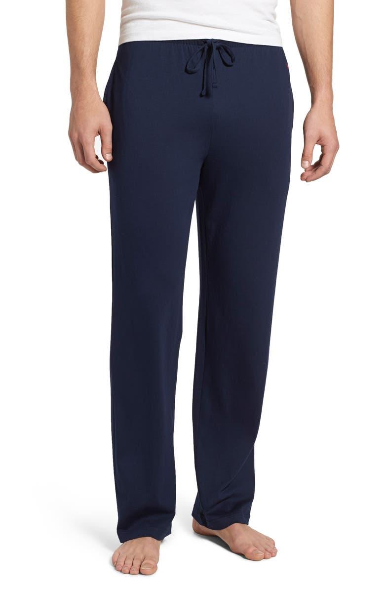 POLO RALPH LAUREN Pajama Pants, Main, color, CRUISE NAVY