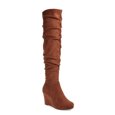 Chinese Laundry Larisa Over The Knee Boot, Brown