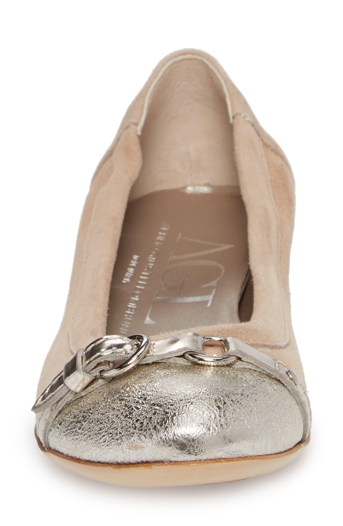 ,                             Cap Toe Ballet Flat,                             Alternate thumbnail 219, color,                             710