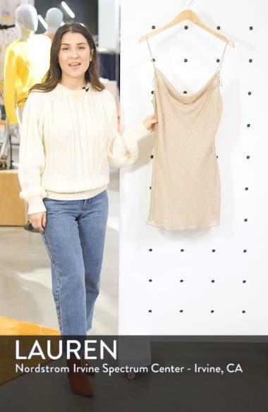 Vera Tie Back Minidress, sales video thumbnail