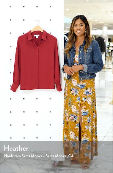 Button-Up Top, sales video thumbnail