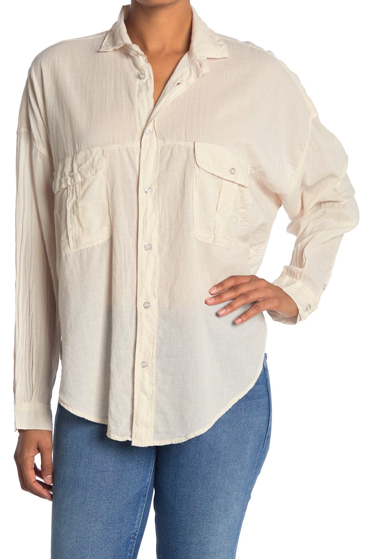 Image of NSF CLOTHING Marci Safari Button Down Shirt