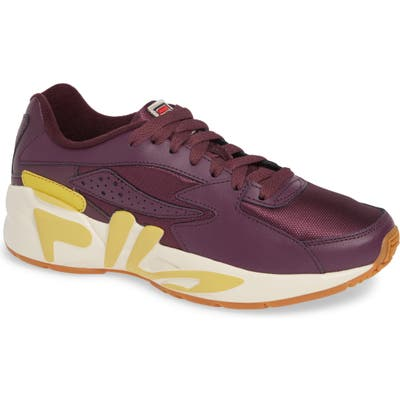 Fila Mindblower Shoe, Burgundy