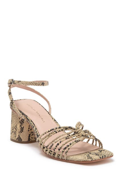 Image of LOEFFLER RANDALL Portia Strappy Block Heel Sandal