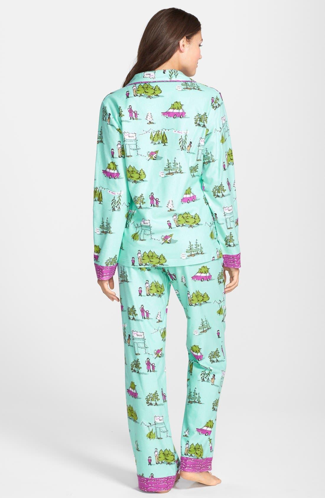 ,                             Flannel Pajamas,                             Alternate thumbnail 42, color,                             445