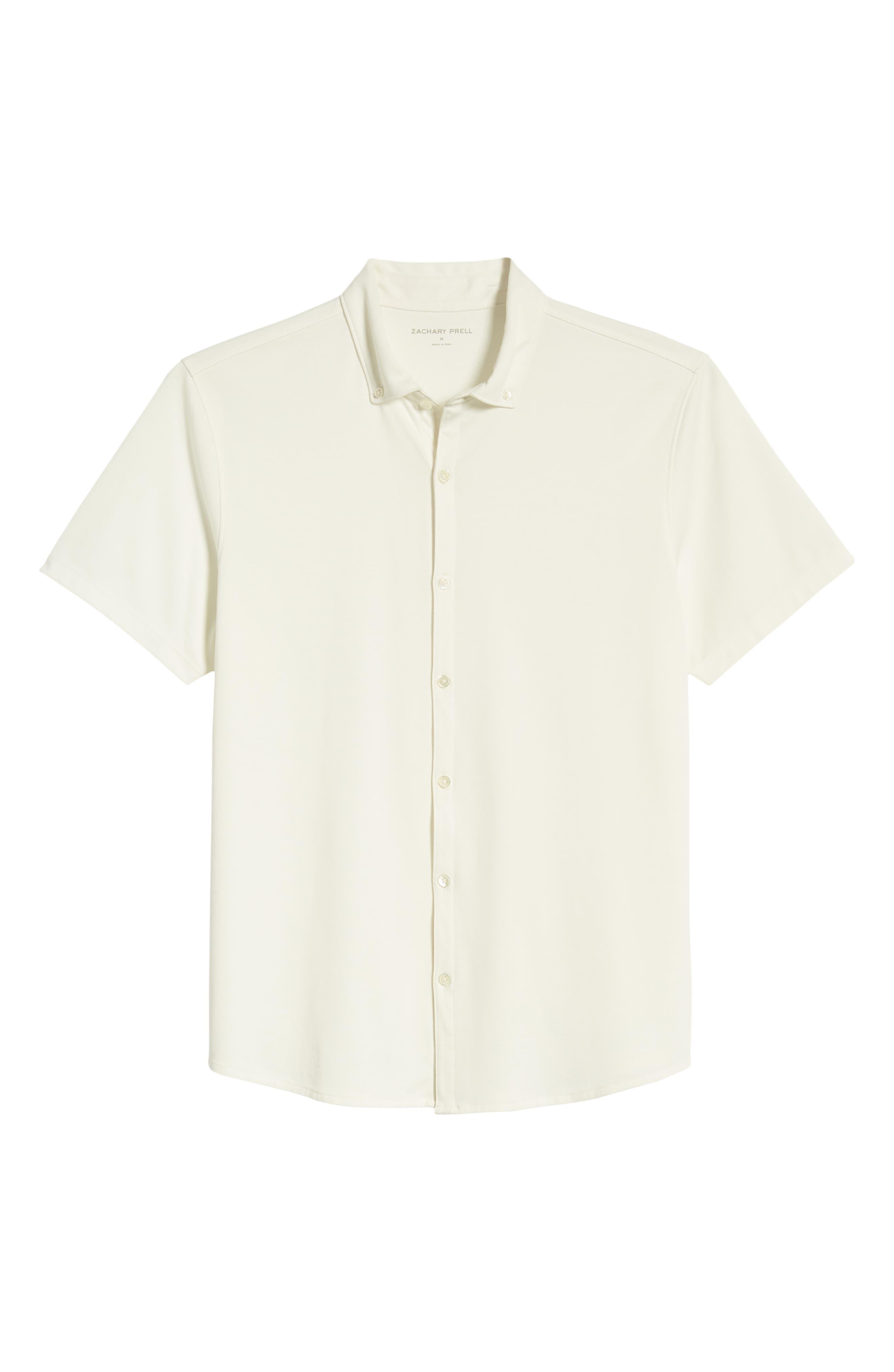 ,                             Caruth Regular Fit Short Sleeve Sport Shirt,                             Alternate thumbnail 18, color,                             100
