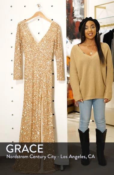 Sequin Slit Dress, sales video thumbnail