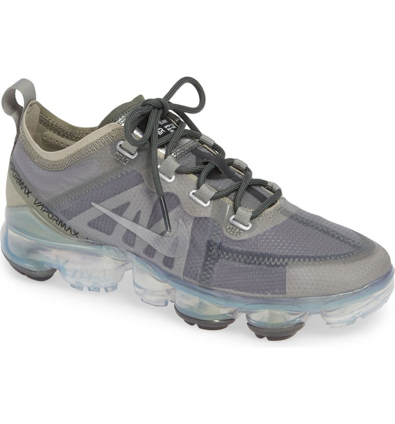 29944e54 Air VaporMax 2019 Running Shoe, Main, color, MINERAL SPRUCE/ SILVER