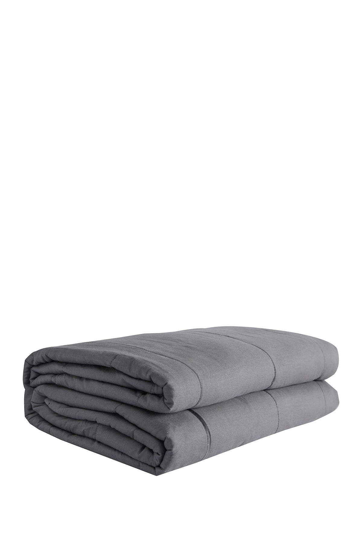 Pur Serenity 15 Lbs Cotton Weighted Blanket 48 X 72 Dark Grey Nordstrom Rack