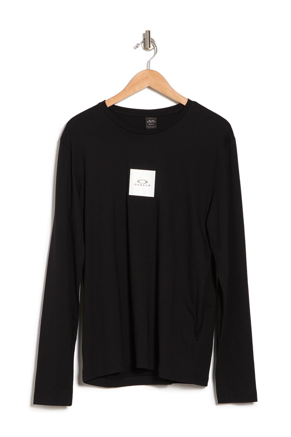 Image of Oakley Block Logo Long Sleeve T-Shirt