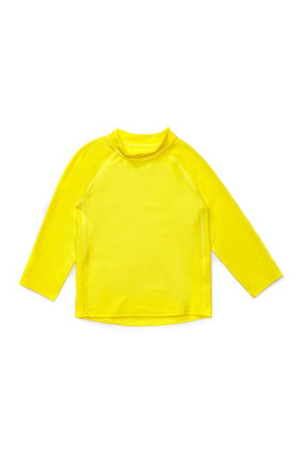 Image of Leveret Long Sleeve UPF +50 Rash Guard - Yellow