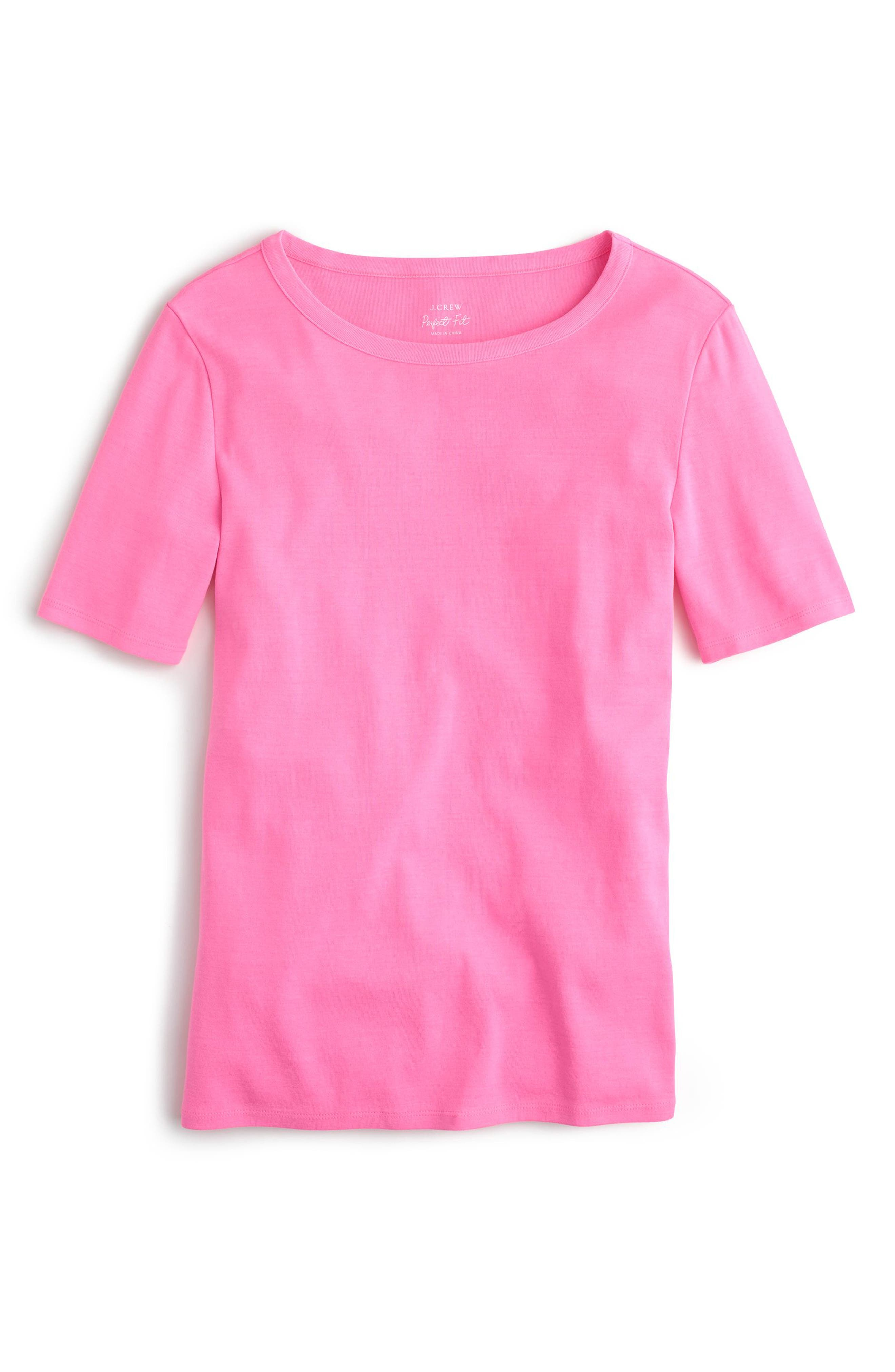 ,                             New Perfect Fit Tee,                             Main thumbnail 70, color,                             650